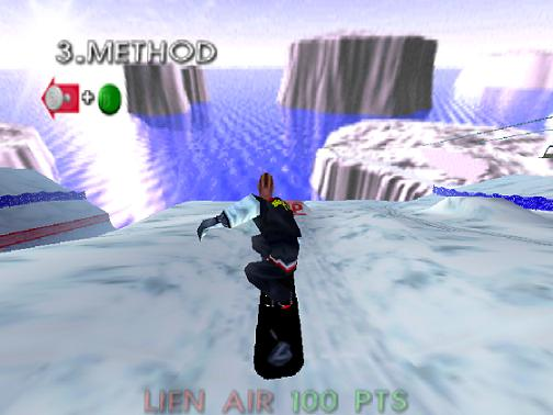 1080 Snowboarding (E) (M4) [!] - screen 2