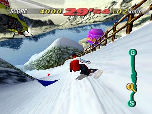 1080 Snowboarding (E) (M4) [!] - screen 1
