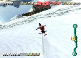 1080 Snowboarding (JU) [!] - screen 4