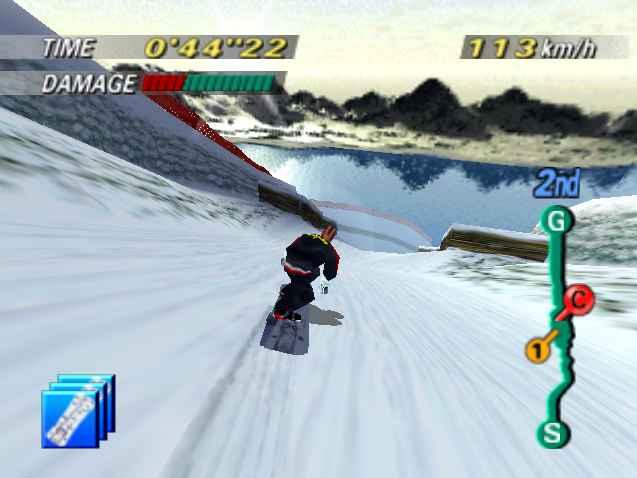 1080 Snowboarding (JU) [!] - screen 1