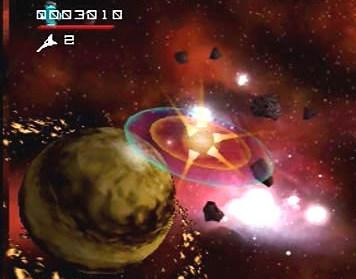 Asteroids Hyper 64 (U) [!] - screen 4