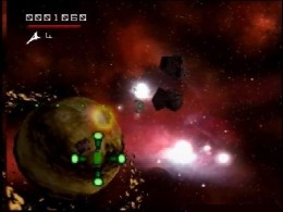 Asteroids Hyper 64 (U) [!] - screen 1