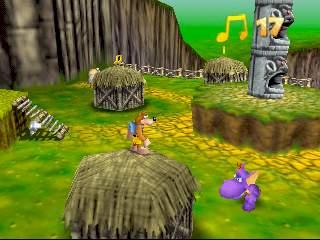 Banjo-Kazooie (U) [!] - screen 4