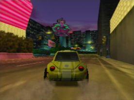 Beetle Adventure Racing! (J) [!] - screen 2