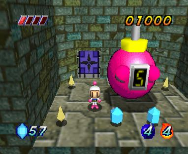 Bomberman Hero (U) [!] - screen 1