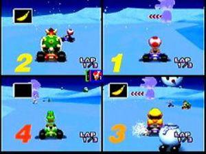Mario Kart 64 (U) [!] - screen 4