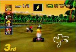 Mario Kart 64 (U) [!] - screen 3