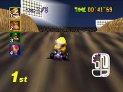 Mario Kart 64 (U) [!] - screen 1