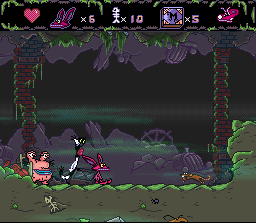 AAAHH!!! Real Monsters (E) [!] - screen 2