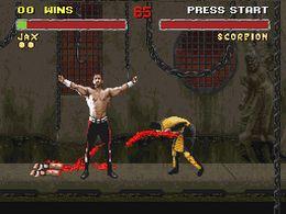 Mortal Kombat II (U) (V1.1) - screen 2