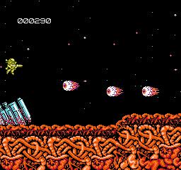 Abadox (J) - screen 1