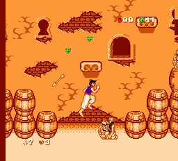 Aladdin (E) [!] - screen 4