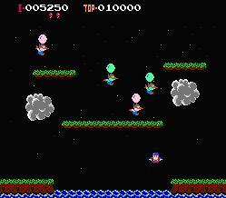 Balloon Fight (E) - screen 3