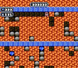 Boulder Dash (J) - screen 1