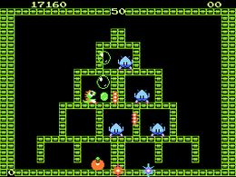 Bubble Bobble (E) - screen 1