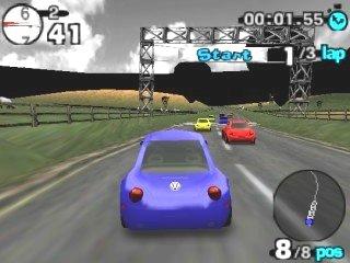 Beetle Adventure Racing! (PL) - screen 1