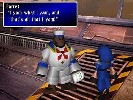 Final Fantasy VII - screen 2