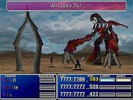 Final Fantasy VII - screen 1