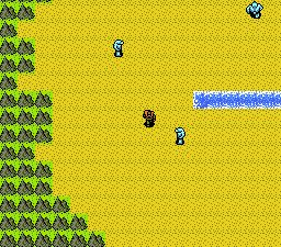 Advanced Dungeons & Dragons - Dragons of Flame (J) - screen 1