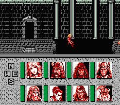 Advanced Dungeons & Dragons - Heroes of the Lance (U) - screen 1