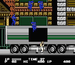 Bad Dudes vs Dragon Ninja (E) [!] - screen 1