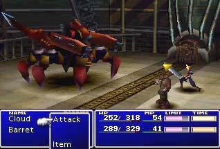 Final Fantasy VII - screen 9