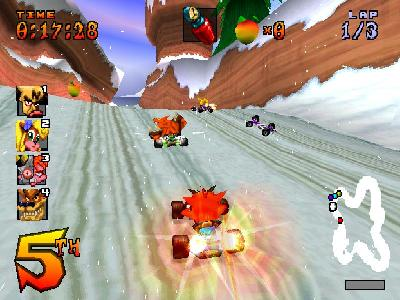 Crash Team Racing - screen 2