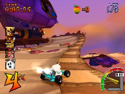Crash Team Racing - screen 1