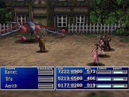 Final Fantasy VII - screen 3