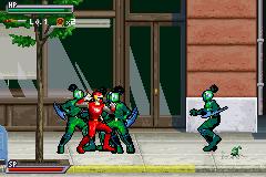 2 Games in 1 - Power Rangers Pack (E) [2134] - screen 1