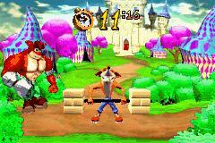 2 in 1 - Crash Bandicoot Purple - Ripto's Revenge and Spyro Orange - The Cortex Conspiracy (U) [2420] - screen 1
