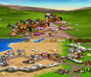 Age of Empires - The Age of Kings (E) [0665] - screen 1