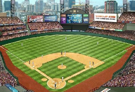 3D Baseball - screen 1