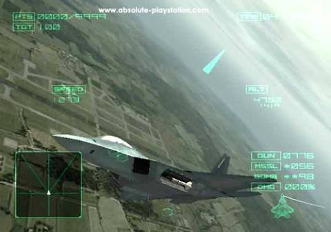 Ace Combat 4: Shattered Skies - screen 4