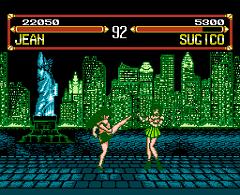 AV Bishoujo Senshi Girl Fighting - screen 1