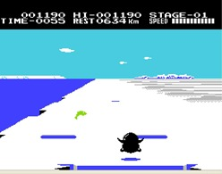 Antarctic Adventure (J) - screen 1